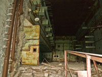 ChNPP. The 5th unit. At the bottom of the reactor mine